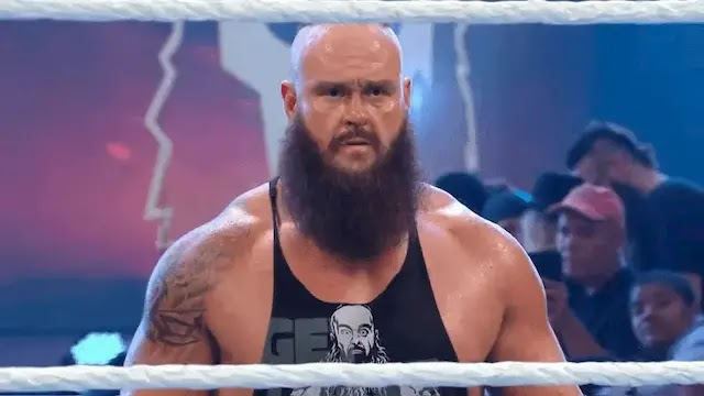 Big change from WWE over Braun Strowman in RAW