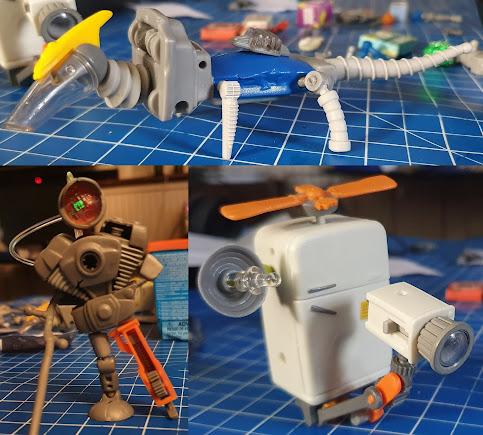 Hexbug Junk Bots review 3 possible models fridge camera robot guy and dinosaur bird