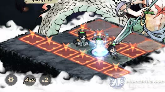 Yokai: Spirits Hunt - South Sea Merman Attack Pattern 3
