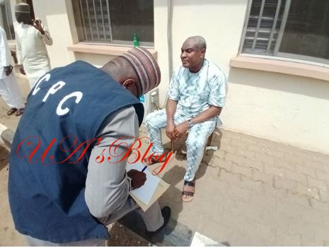 Photos Of Ex-Presidential Aide, Obono-Obla After His Arrest In Abuja