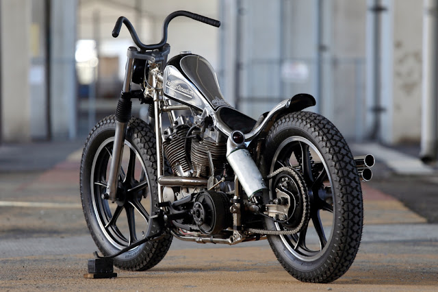 Harley Davidson Shovelhead By Hide Motorcycle Hell Kustom