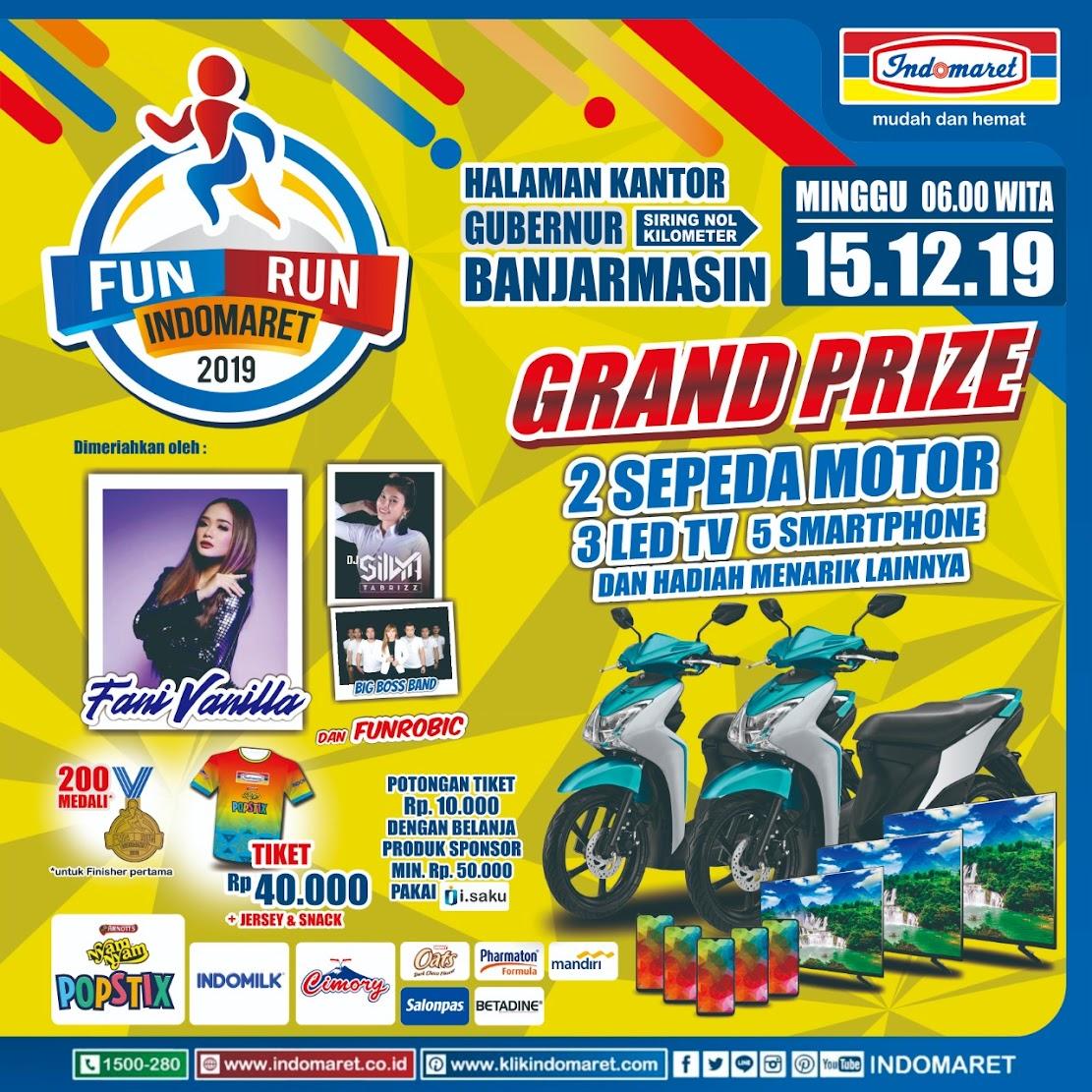 Fun Run Indomaret - Banjarmasin • 2019