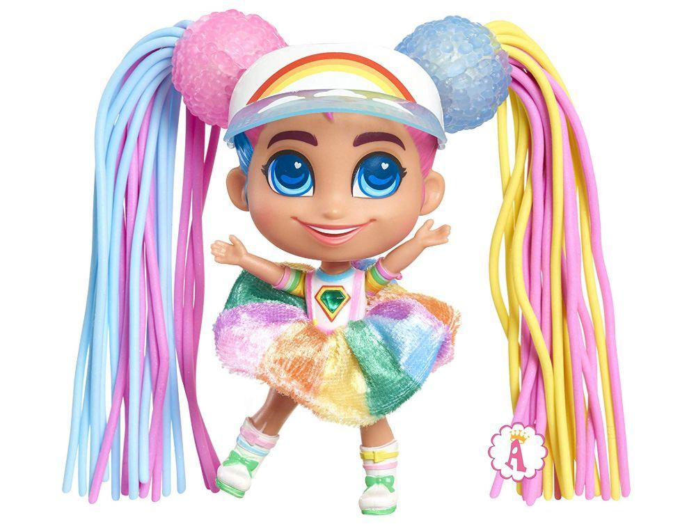 Маленькая сестра куклы Хэрдораблс Daisy Hairdorables Shortcuts Jelly Hair series 2