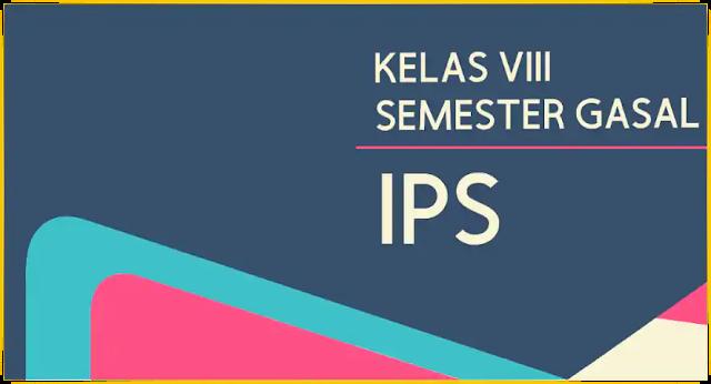 Modul PJJ IPS SMP Kelas 8 (VIII) Semester Ganjil