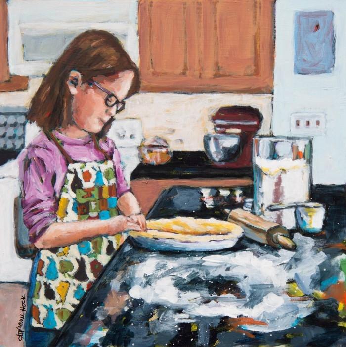 Американский художник. Stephanie Hock