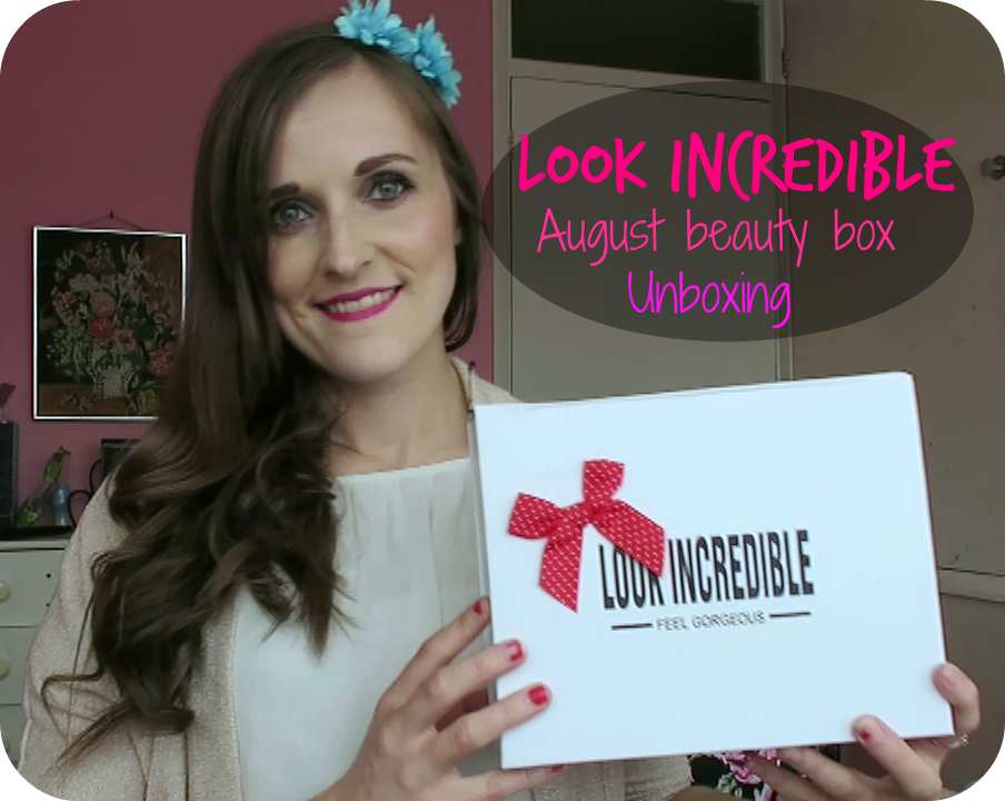 look incredible august deluxe beauty box