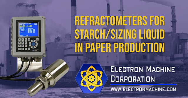 Refractometers in Starch/Sizing Liquid