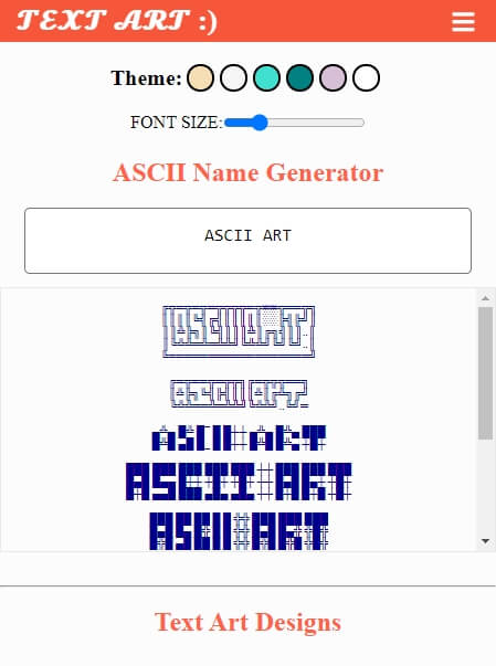 text art