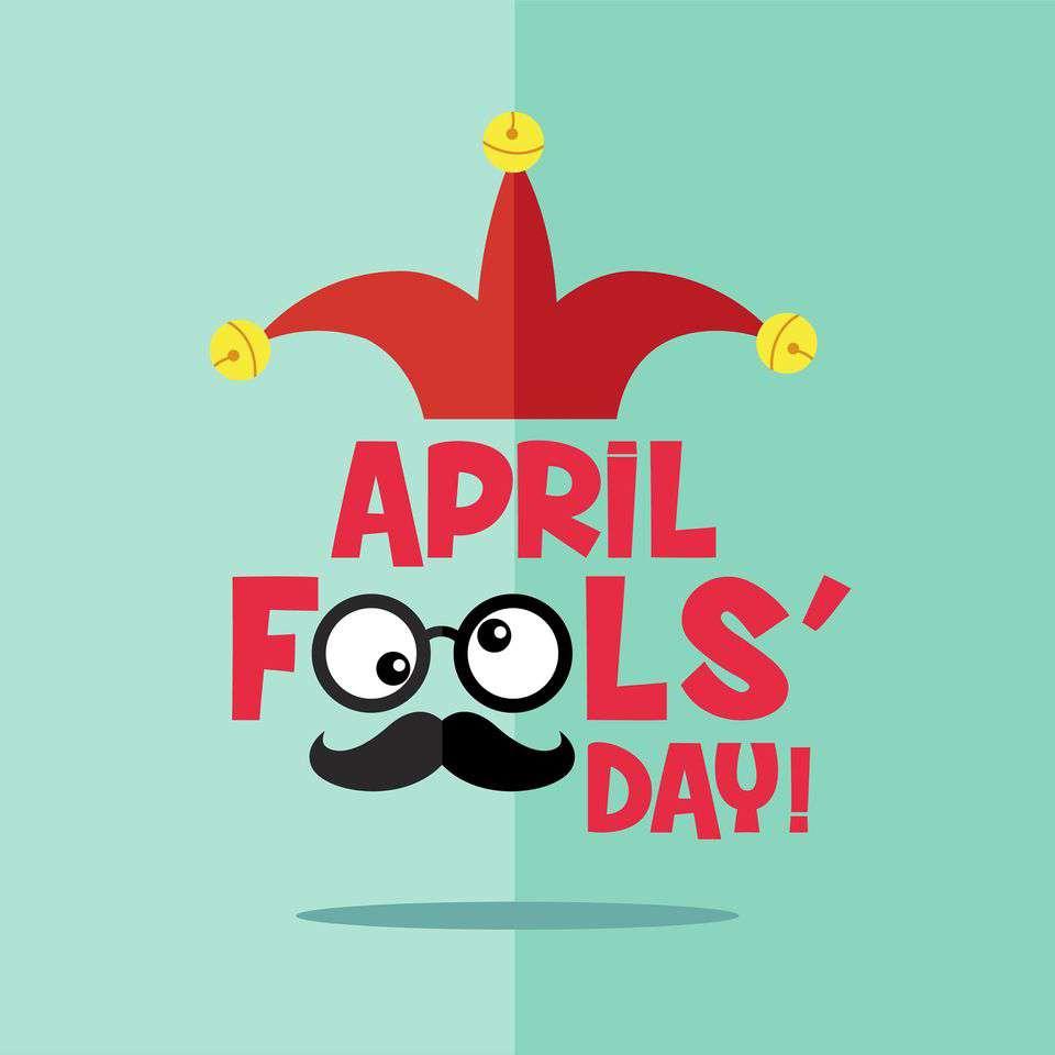 April Fools' Day Wishes Unique Image