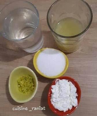 تحلية الليمون (الحامض) ببقايا الكيك