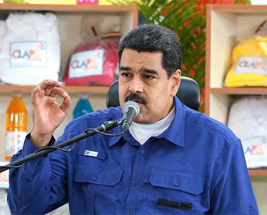 """¿TAN SEGURO NICO? Maduro llama """"histérica"""" a Julio Borges y asegura que oposición no llegará a Miraflores """"nunca"""""""