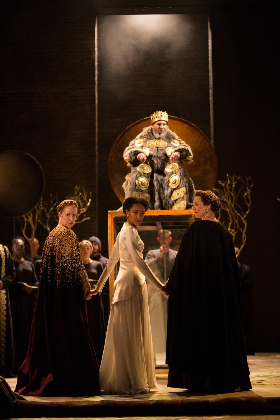 a review of the play king lear by william shakespeare King lear summary provides a quick and easy overview of king lear's plot  describing every major event in this play.