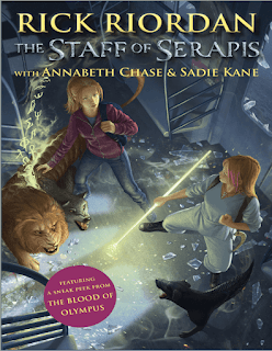 The Staff of Serapis by Rick Riordan