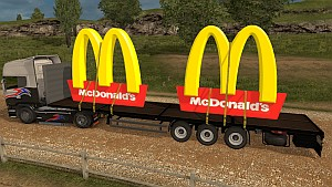 ETS2 Mcdonalds trailer