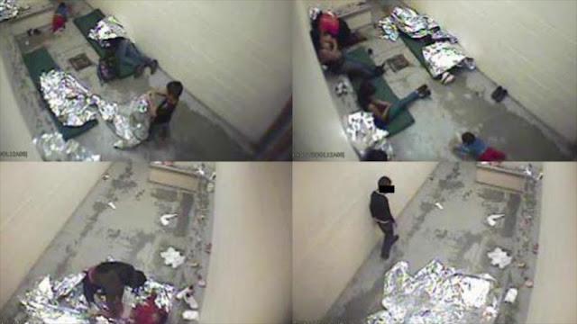 """""""EEUU recibe a migrantes en celdas congeladas y con acoso sexual"""""""