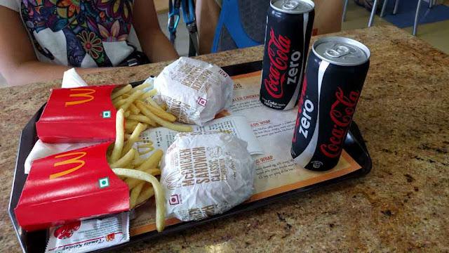 McDonalds en Varanasi