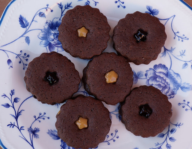 Galletas Tiernas De Chocolate Rellenas