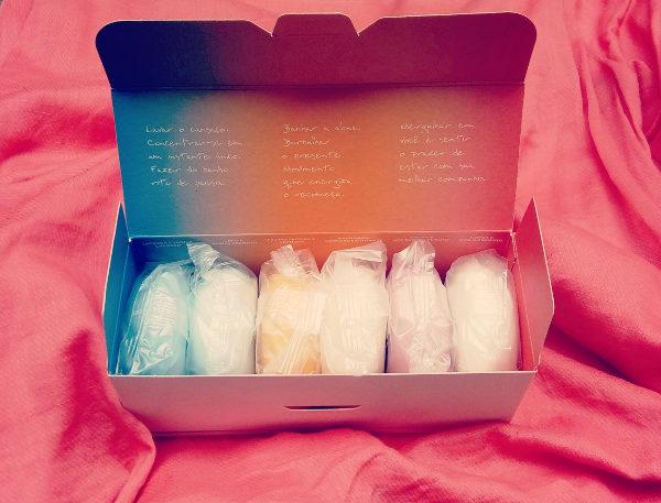 Caixa de Sabonetes em barra Natura Tododia Sortidos [Resenha]