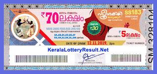 kerala lottery results 12.11.2019 sthree sakthi ss 183, kerala lottery, kerala lottery result, kerala lottery results, kerala lottery result today, live kerala lottery result