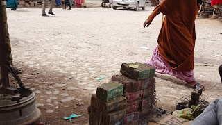 Next to the money changers in Hargeisa is the Laundry