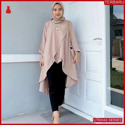 UTM046M52 Baju Mc Muslim Hanum Dewasa Tunik UTM046M52 02E | Terbaru BMGShop
