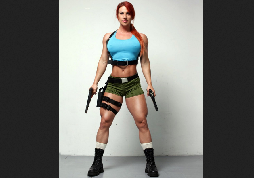 Female Bodybuilding : Muscles Don't Get Converted Into Fat