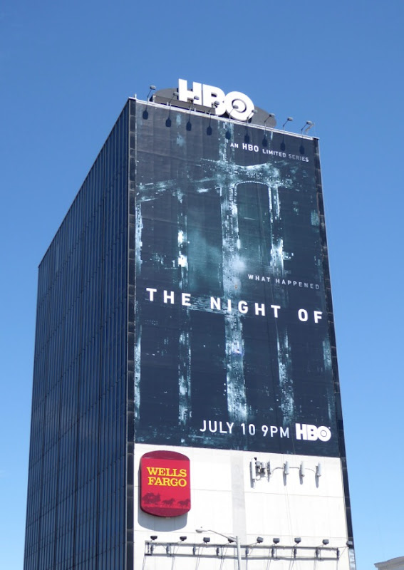 The Night Of giant HBO series billboard