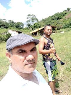 O vereador Tô Justo MDB pede melhorias no campo em Amarelinha em Pilôezinhos