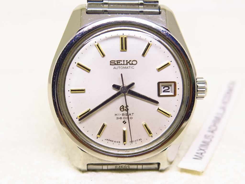 SEIKO GRAND SEIKO DATE - AUTOMATIC 6145 8000 HIGH BEAT 36000