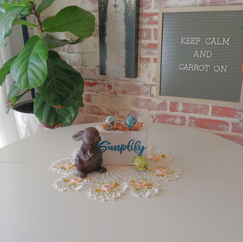 Easy Chocolate Bunnies tutorial