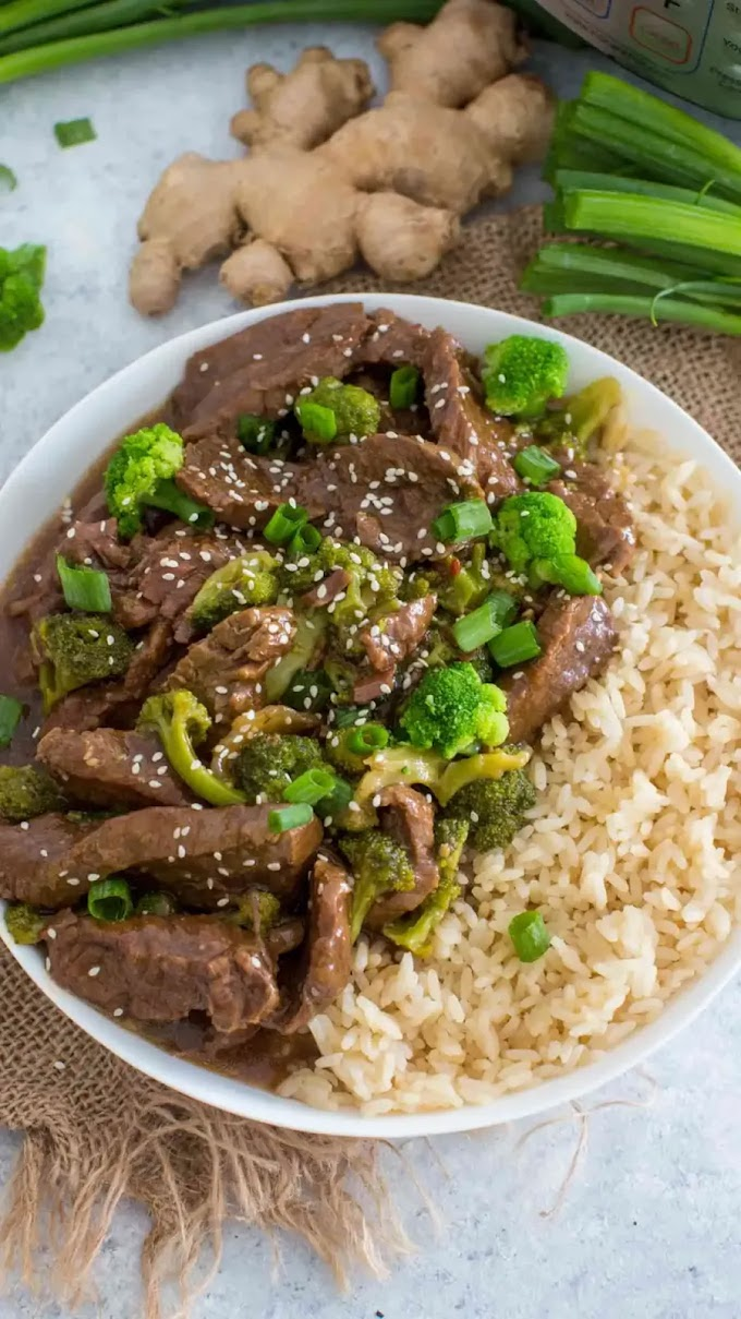 ★★★★★ | Instant Pot Beef and Broccoli