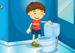 progress toilet training