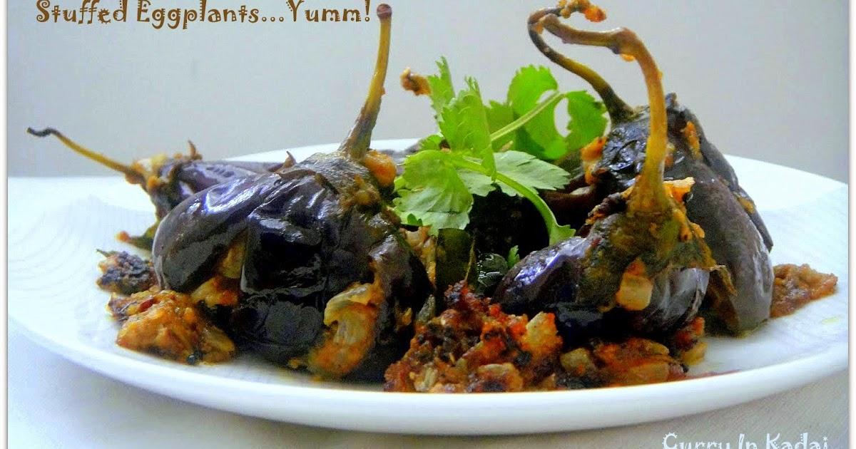 Curry In Kadai ~ An Indian Cooking Blog: Gutthi Vankaya ...