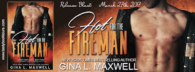 Release Blast & Giveaway:  Hot for the Fireman – Gina L. Maxwell