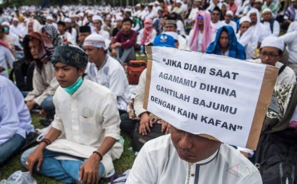 Allahu Akbar! Massa dari Banten Sudah Long March ke Jakarta untuk Aksi Damai 505