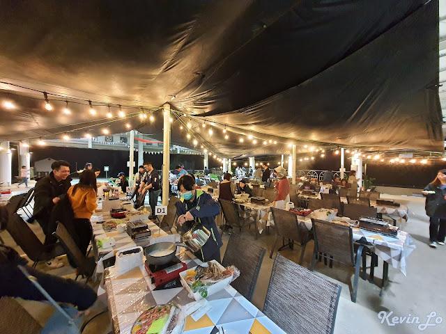 拉波波村營區自助式峽谷晚宴