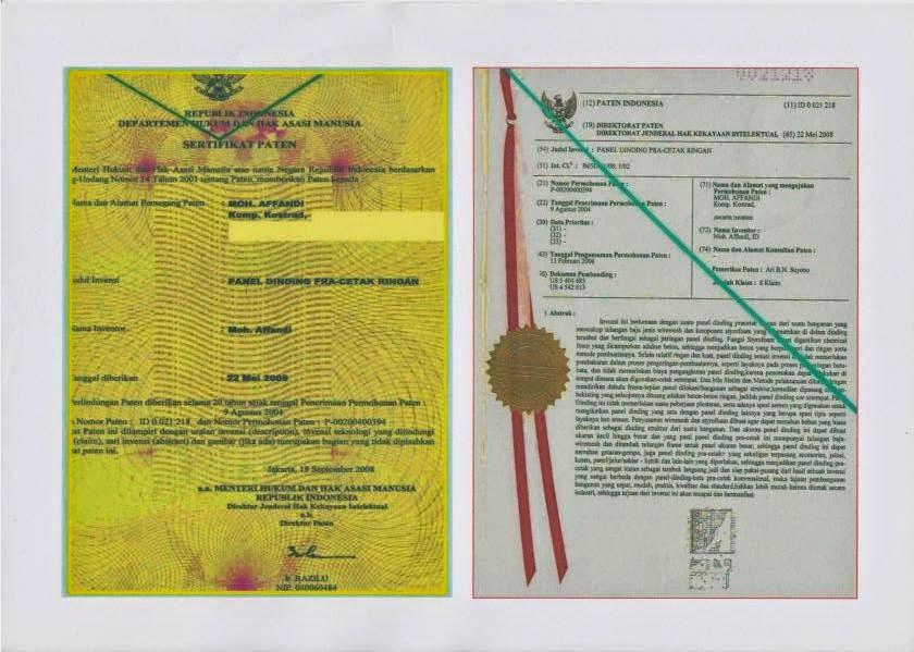Dokumen Sertivikasi