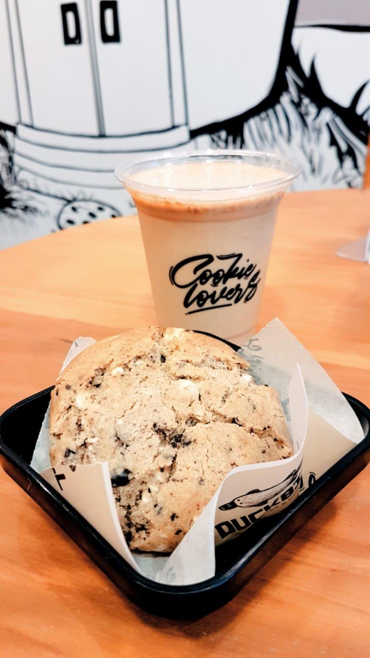Cafés em Curitiba: Duckbill Cookies & Coffee
