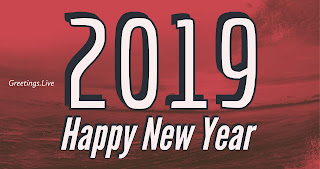 Free 2019 Happy new greetings gift images