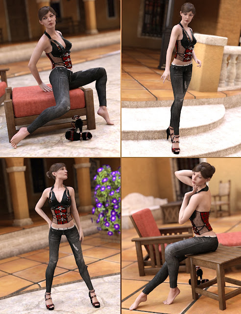Mod Poses for Genevieve 7