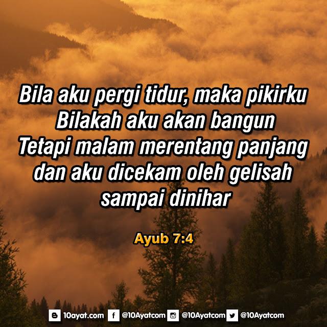 Ayub 7:4
