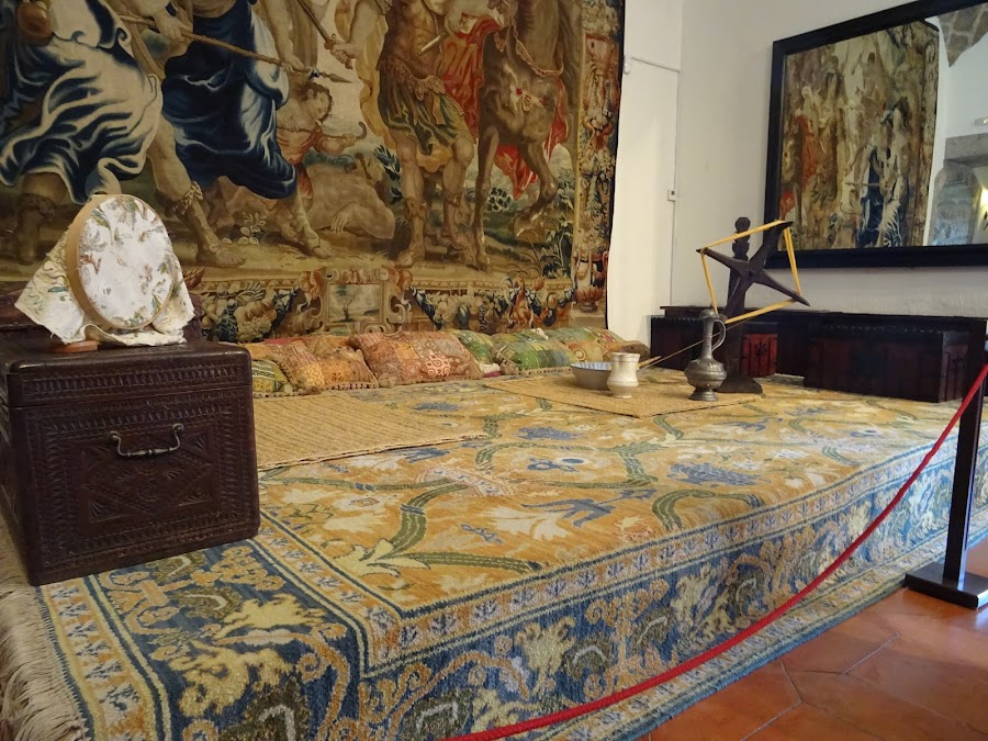 Interior Castillo Nuevo de Manzanares El Real