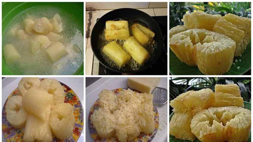Resep Singkong Keju Goreng Crispy