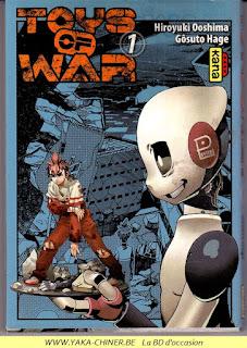 Manga, Toys of War tome 1