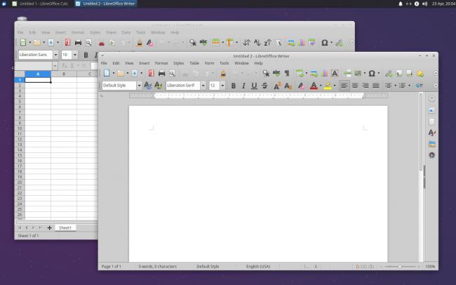 سطح المكتب Xubuntu
