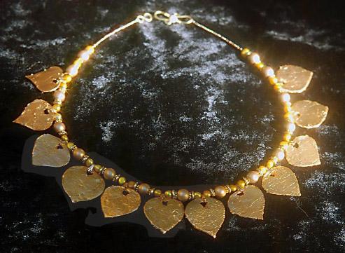Inspired Replica of Silla the Golden Kingdom of Korea Jewelry Necklace
