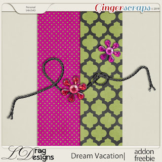 CT, Annemarie, for Lina Drag Designs and Coordinating Freebie -  Dream Vacation: The Collection by LDragDesigns