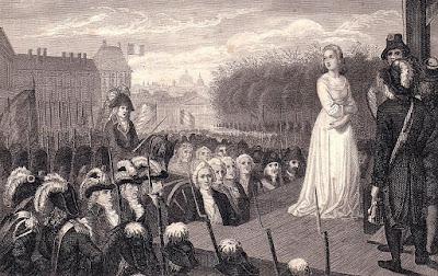 Казнь Марии-Антуанетты, королевы Франции