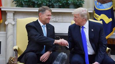 Klaus Iohannis, Donald Trump, Washington, Egyesült Államok, Románia, NATO,