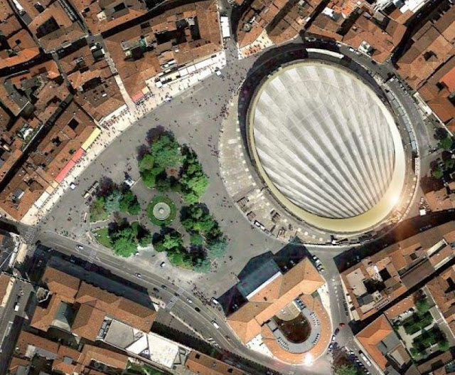 German project to cover Verona's Roman Amphitheatre